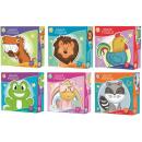 Großhandel Spielwaren: Puzzle in Tierform 53 Teile
