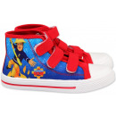 Sneaker Fireman Sam , Sam is the firefighter