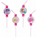 My Little Pony straw, 8 pcs set