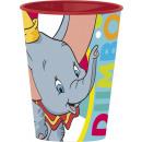 Disney Dumbo glass, plastic 260 ml