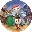Sheriff Callie, Who's Sheriff Paper Plate 8 pc