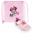 DisneyMinnie Street shoes with gym bag 23-30