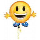 Emoji Mini Foil Balloons 53 cm