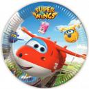 Super Wings Paper Plate 8 x 23 cm
