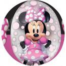 DisneyMinnie Balony kuliste foliowe 40 cm