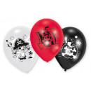 Pirate, Pirate balloon, balloons with 6 pieces