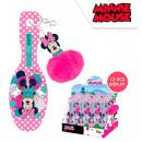 DisneyMinnie hairbrush with cheerleader ornament