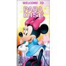 Asciugamano Disney Minnie , telo mare 70 * 140