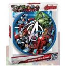 Wandklok Avengers 25cm