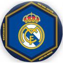 forma del Real Madrid de almohadas, cojines