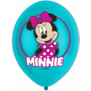 Disney Minnie léggömb, lufi 6 db-os