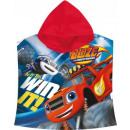 Blaze , flamme poncho serviette 60 * 120cm