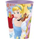 Disney Princess glass, plastic 260 ml