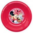 Disney Minnie Deep Plate, Plastic 3D