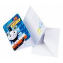 Thomas and Friends Party Invitation 6pcs