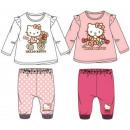 Großhandel Lizenzartikel: Baby - T-shirt + -hosen Hello Kitty