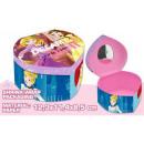 Boîte à bijoux en forme de coeur Disney Princess