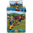 Linens Fireman Sam , Sam the firefighter 140 × 200