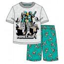 Minecraft kid short pyjamas 6-12 years