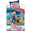 Paw Patrol bedding 140 × 200cm, 70 × 90 cm