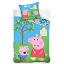 Peppa pig bedding cover 140 × 200cm, 70 × 90 cm