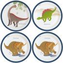 Dinosaur , Dinosaurier Pappteller mit 8 Stück 23 c