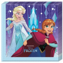 Disney frozen , tovagliolo gelato con 20 pezzi