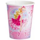 Barbie kartonnen beker 8-piece 266 ml