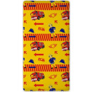 wholesale Bedlinen & Mattresses: Fitted Sheet  Fireman Sam, Sam the fire 90 x 200 cm