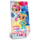 Shimmer and Shine bath towel, beach towel