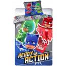 Bedding PJ Masks, Pisces Heroes 140 × 200cm, 70 ×