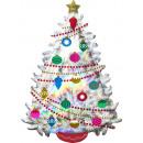 nagyker Dekoráció: Hologrammos Christmas Tree, Karácsonyfa Fólia ...