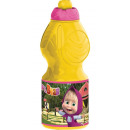 Water bottle, sports bottle Masha and the Bear