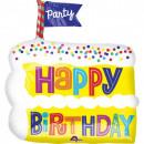 mayorista Regalos y papeleria: Happy Birthday foil globos 50 cm