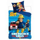 Bedding Fireman Sam , Sam Fire Fighter 140 × 200cm