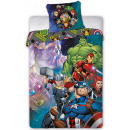 Pościel Avengers 140 × 200 cm, 70 × 90 cm