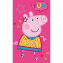 Großhandel Lizenzartikel: Peppa Schwein Handtuch Gesichtstuch, ...