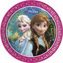 Disney Frozen, Frozen Paper Plate 8-delig 23 cm