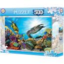 Puzzle oceaniczne składające się z 500 elementów