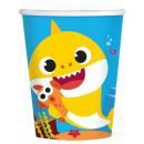 Baby Shark paper cup 8 pcs 266 ml