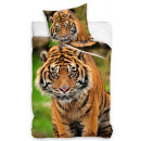 Tiger bedding 140 × 200cm, 70 × 90 cm