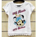 DisneyMinnie kids short t-shirt, top 3-8 years