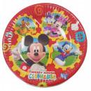 DisneyMickey Talerz papierowy Mouse Club 8 szt