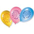 Disney Princesse , Ballon Princesse, ballons 8 pcs