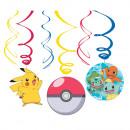 Pokémon Ribbon Dekoration Set von 6 Stück