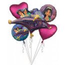 Disney Princesses Foil Balloons Set of 5