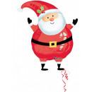 Père Noël, Père Noël Ballons Fleuret 43 cm de