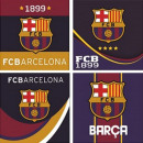 Hand towel facial towels, towels FCB, FC Barcelona
