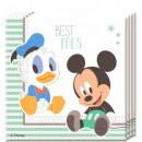 Großhandel Partyartikel: Disney Mickey Serviette mit 20 Stück