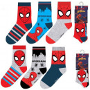 Kid's Socks Spiderman , Spiderman 23-34